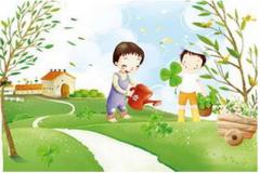 深圳幼儿园亲子植树趣味